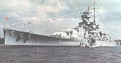 ドイツ巡洋戦艦シャルンホルスト
