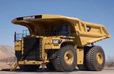 キャタピラー CAT 797F ダンプトラック